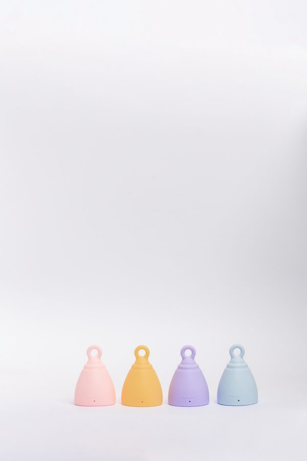 Cocmau Menstrual Cup in four colors