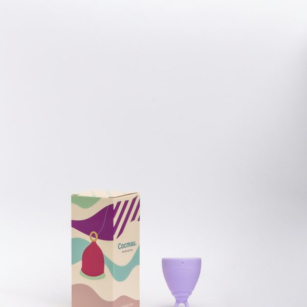 Cocmau Menstrual Cup in Pastel Violet